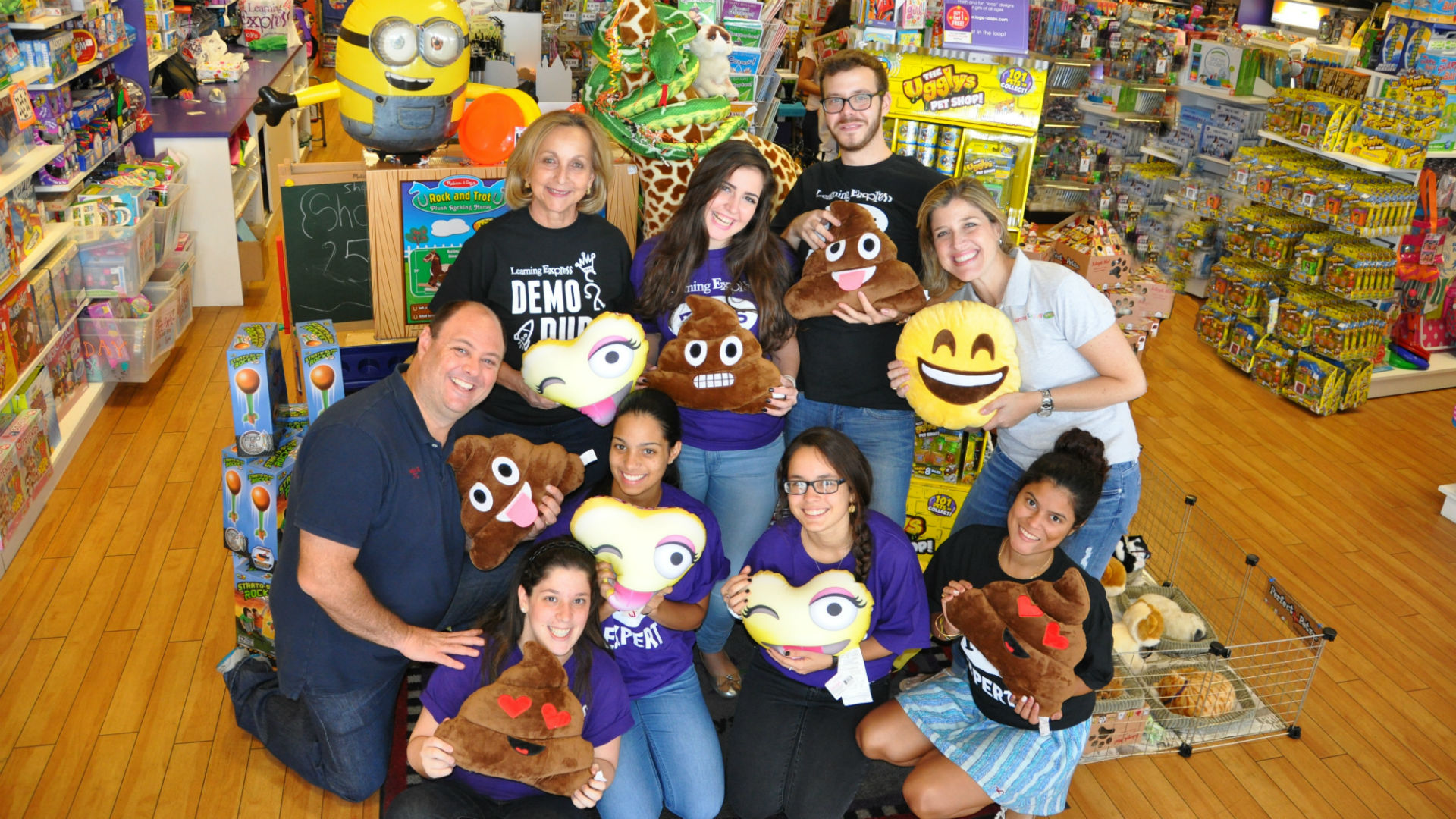 aventura florida learning express toy store staff photo