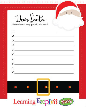 marketing example santa letter
