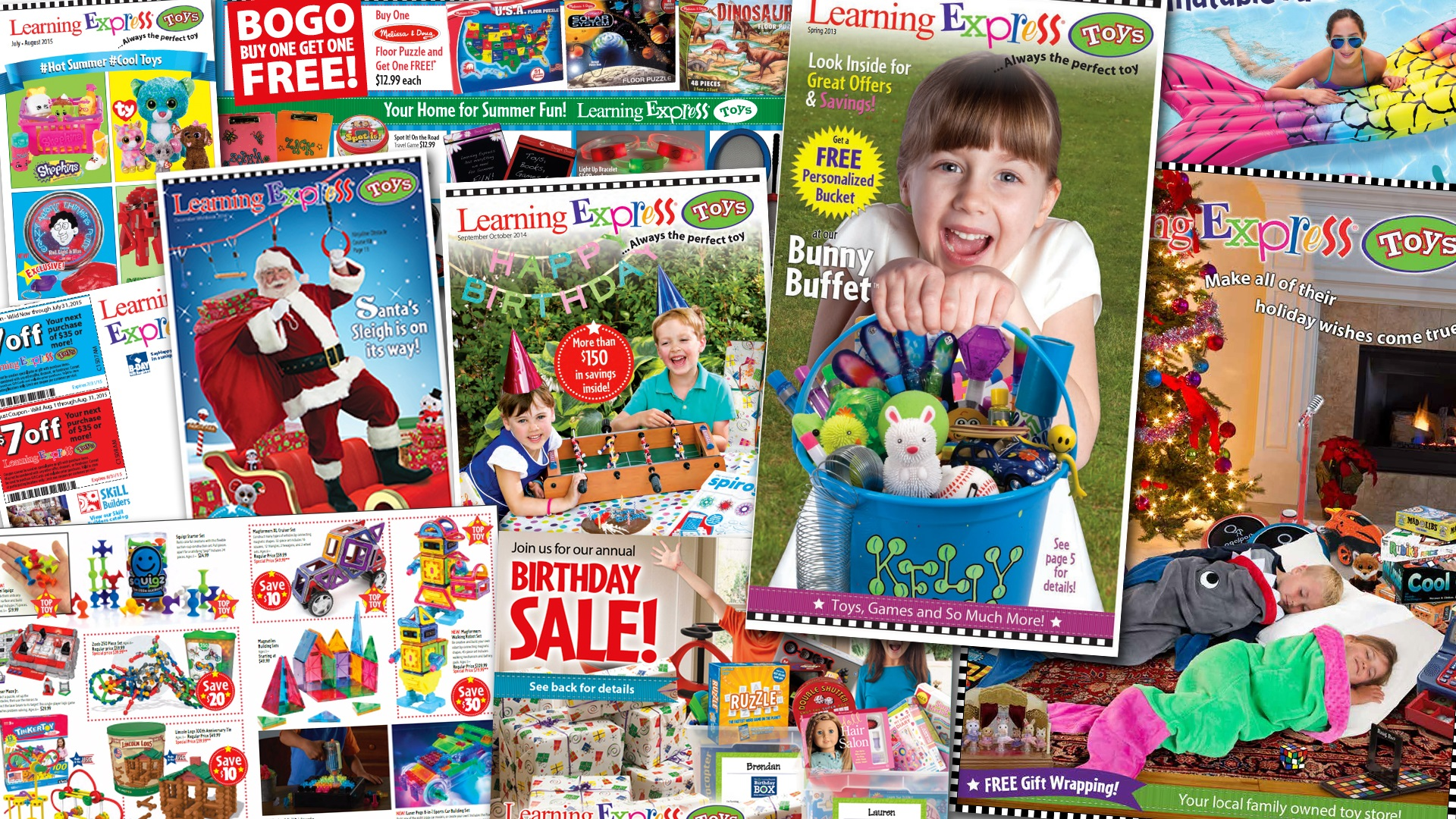 learning express toy store catalogs