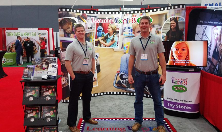 Franchise Expo West LE Booth 2017