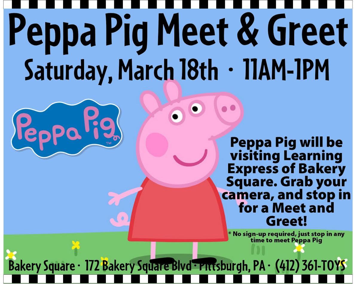 Storytimemeet Peppa Pig