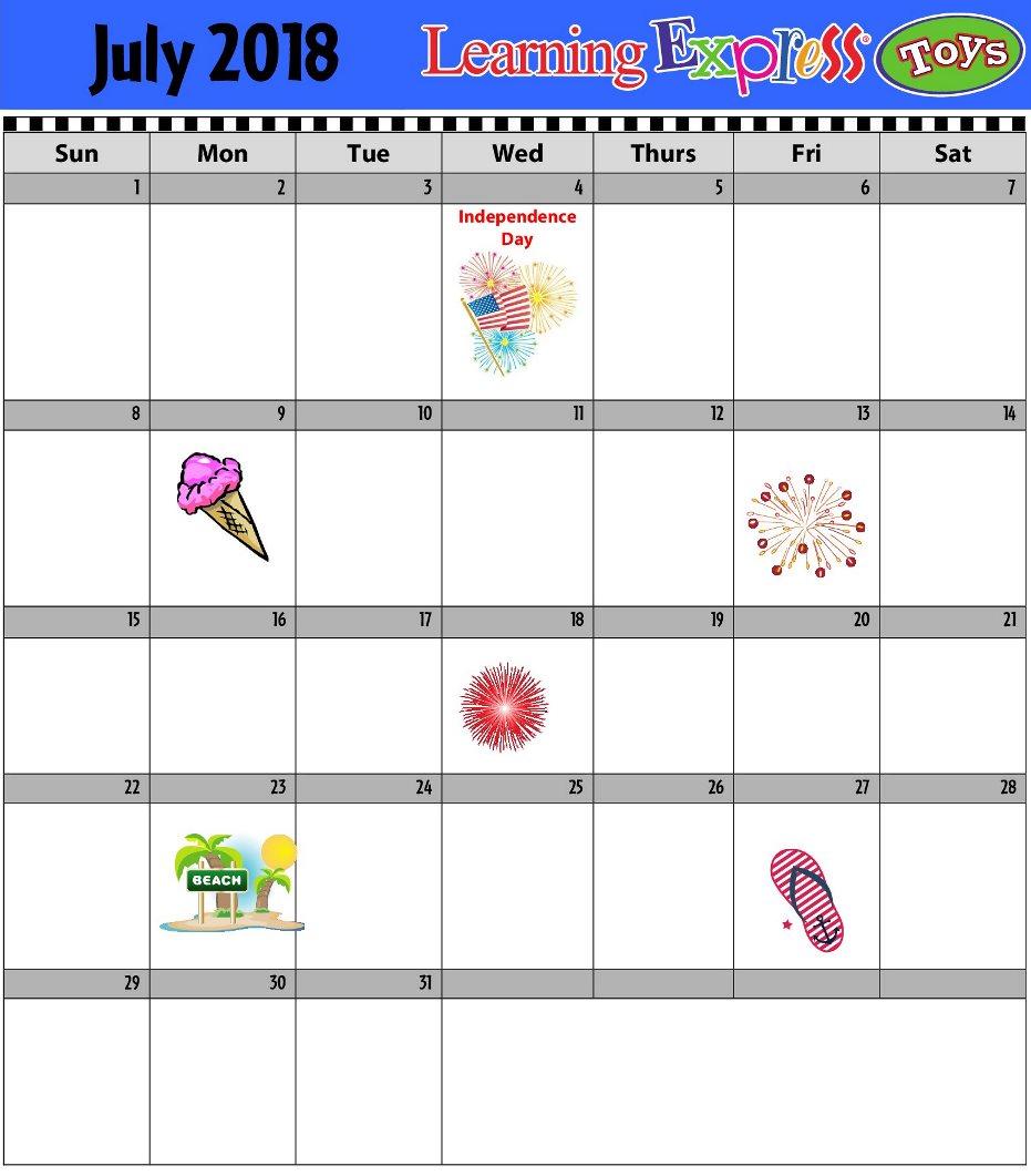 InStore Acitivty Calendar