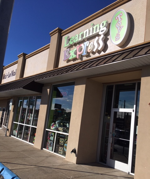 Learning Express Dallas store exterior
