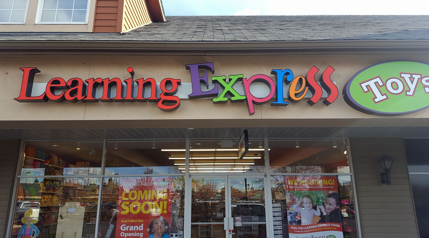 Learning Express of Bend OR store exterior