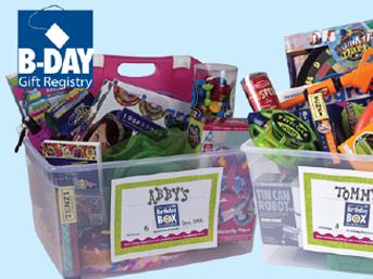 B-Day Gift Registry
